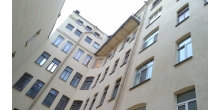 Кирочная 24. Дворовый фасад после проведения работ