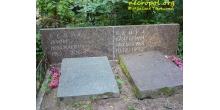 Надгробие Бенуа на Большеохтинском кладбище