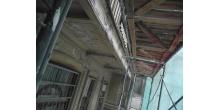 Кирочная 24. Состояние штукатурного слоя дворовых фасадов