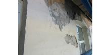 Кирочная 24.Состояние штукатурного слоя дворового фасада до начала работ. Фото НРФ МИР