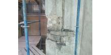 Кирочная 24.Состояние штукатурного слоя дворового фасада. Фото НРФ МИР