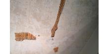 Потолок в процессе проведения работ. Фото НРФ МИР