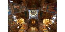 Мозаика в интерьерах храма Спас на крови