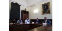 Пресс-конференция в Жилищном комитете. Фото - Невские новости